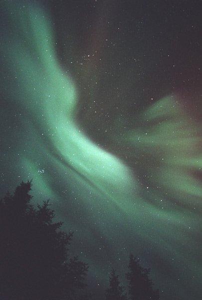 Aurora en Quebec (Canadá)