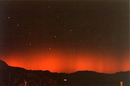 Aurora en Lérida (21 de Octubre de 2001)