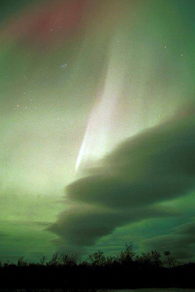 Fotografía tomada el 22 de octubre de 2001 en Alaska por John Russell
