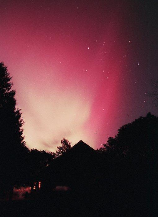 Aurora sobre Massachussets