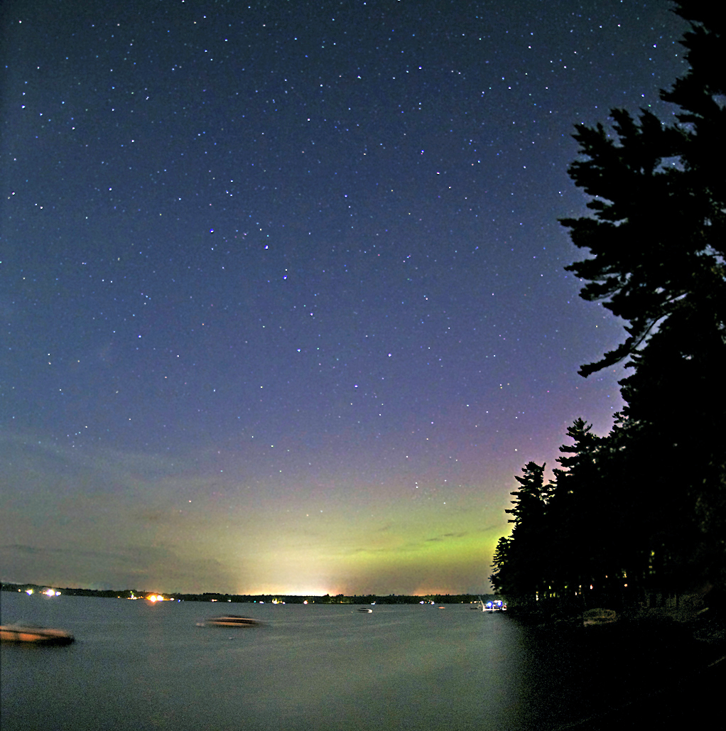 Spaceweather.com Northern Lights Photo Gallery: August 2011