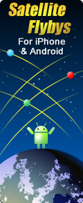 Flybys for iPhone and Android