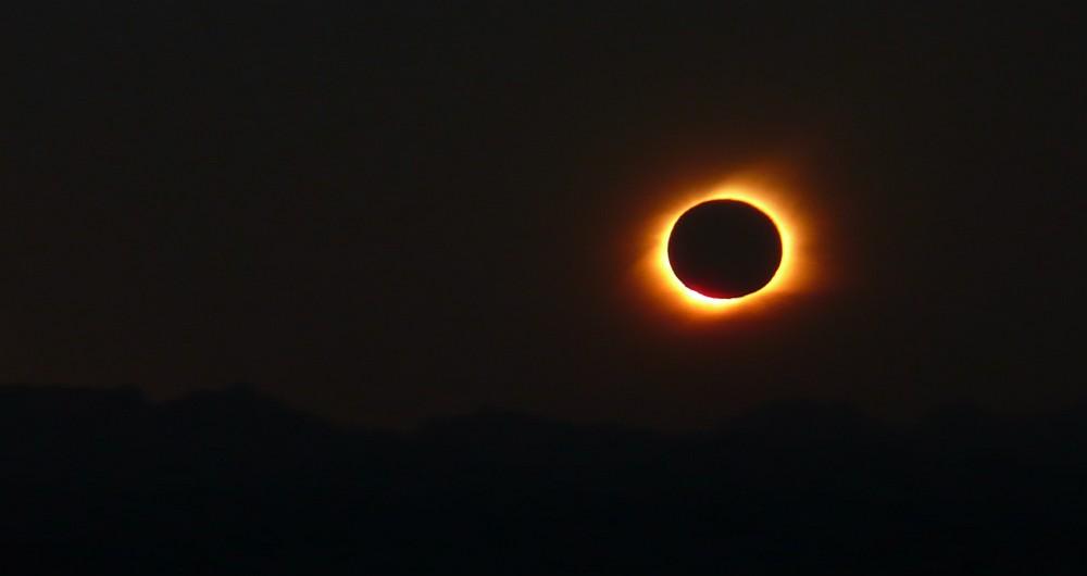 Cook Islands Sun Eclipse