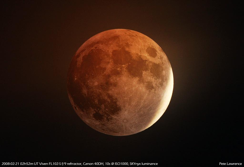 Galerie de photos de l'éclipse de Lune du 21 février