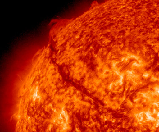 Filamento solare