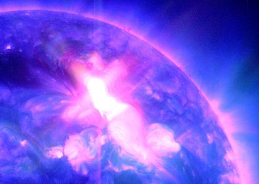 عاصفة شمسية ضربت كوكب الأرض نحسّ