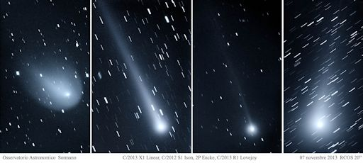 """Comet"" Ison Now Visible To Naked Eye  4comets_strip"