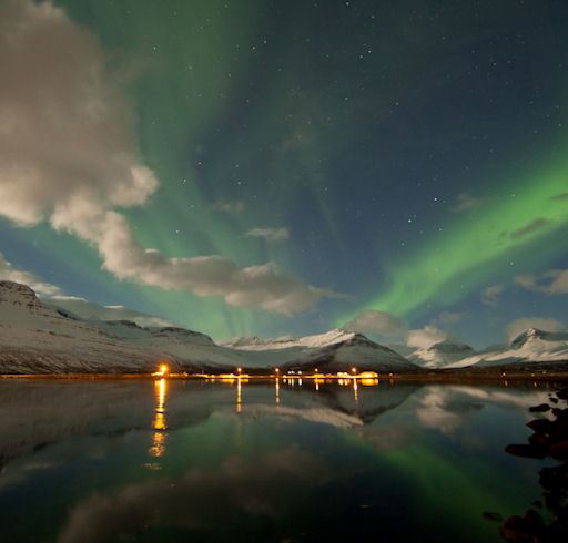 Faskrudsfjordur Iceland  city photos gallery : ... sends this picture taken last night from faskrudsfjordur iceland