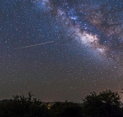 Galerry meteor caught during the peak of last week's Eta Aquarid meteor shower
