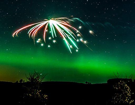 solar storm firework - photo #25