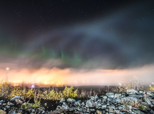 Earth Changes from September 2017 - to present / Biblical Hurricanes, Earthquakes, Floods, Volcanic Activity, Fires, Snow Ice Storms - Page 3 Auroraandfogbow_strip