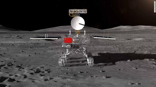 Acontecimiento histórico, China aluniza en el lado oculto de la Luna Rover