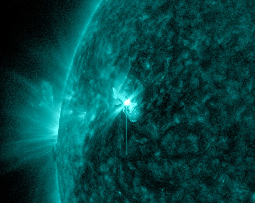 Space Weather Forecasts - ESTUDIO DEL SOL Y LA #MAGNETOSFERA , #ASTRONOMÍA - Página 10 M1_teal_strip