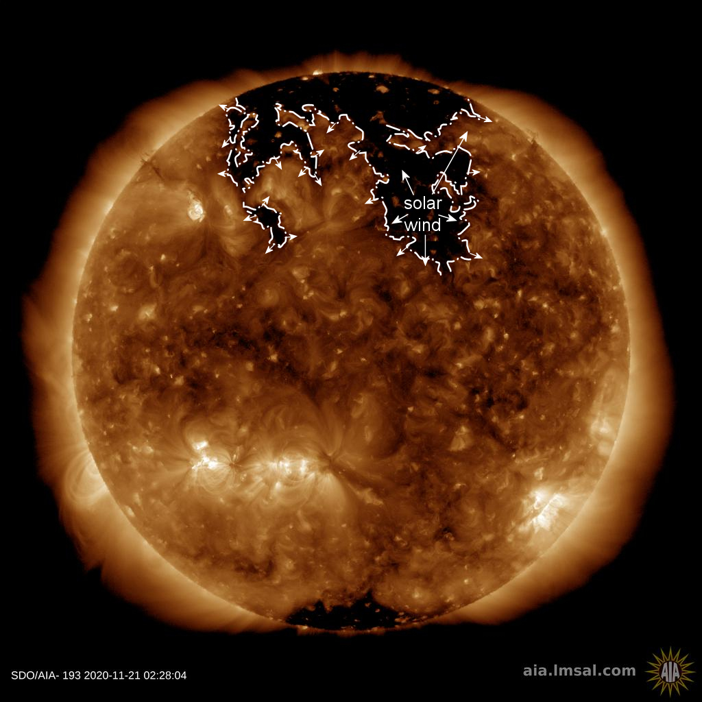 News Burst 22 November 2020 - Northern hole in the sun's atmosphere