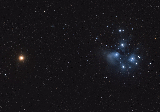 News Burst 4 March 2021 - Mars And The Pleiades In Conjunction